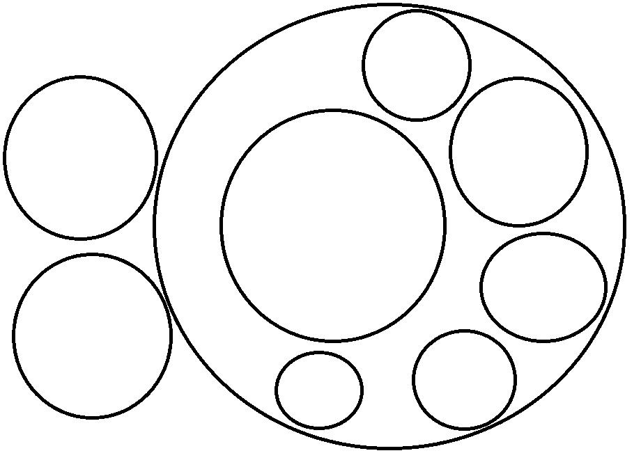 Раскраски для малышей круги