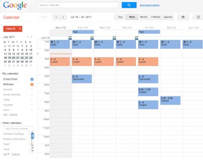 Обзор приложения гугл календаря