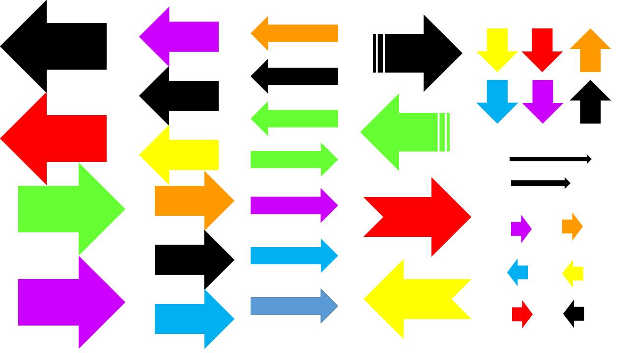 шаблон стрелки распечатать 2
