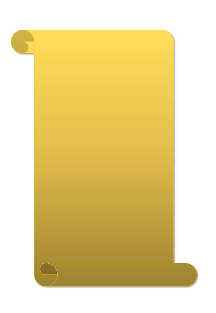 свиток картинка для надписи