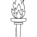 картинка факел