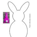 шаблон зайца 2