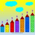 состав числа до 10 таблица