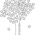 трафарет и шаблон дерева