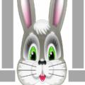 маска зайца на голову распечатать