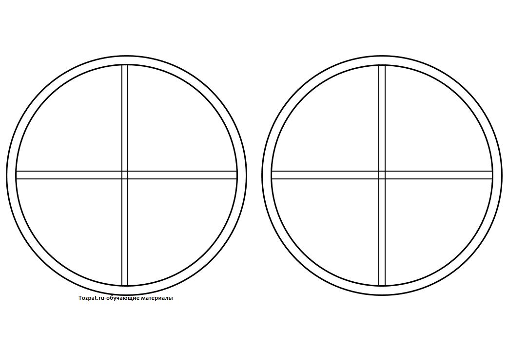 шаблон окна для вырезания из бумаги 2