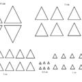 распечатать треугольники 1