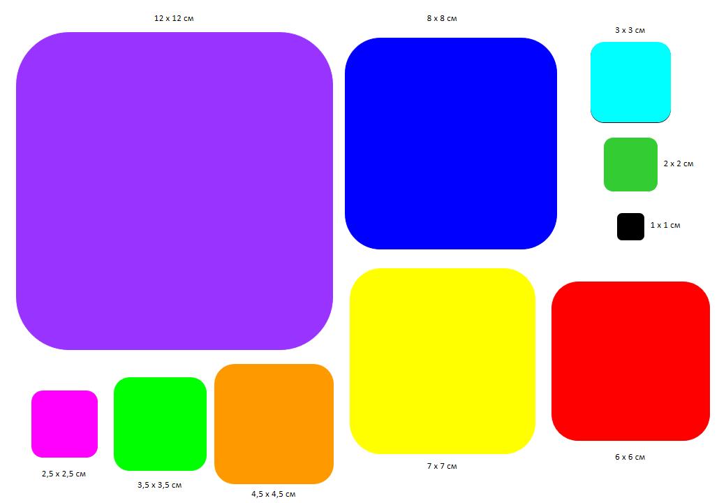 квадрат с закругленными краями 4